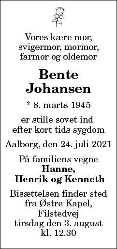 Bente Kathrine Johansen