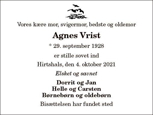 Agnes Vrist