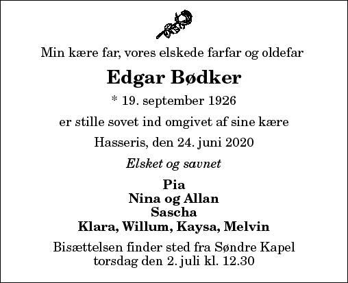 Edgar Bødker