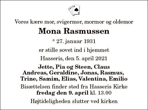Mona Rasmussen
