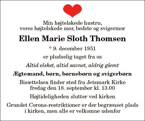 Ellen Marie Sloth Thomsen