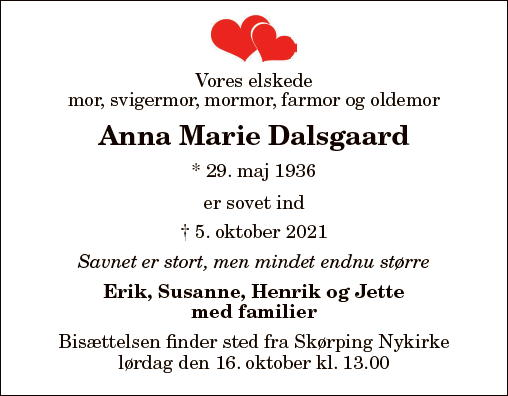 Anna Marie Dalsgaard