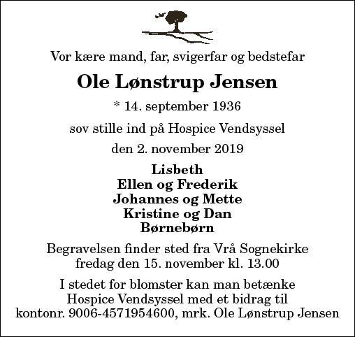 Ole Lønstrup Jensen