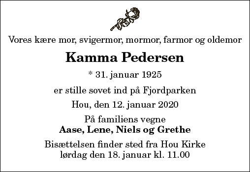 Kamma Pedersen