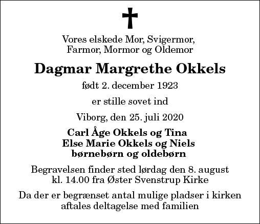 Dagmar Margrethe Okkels
