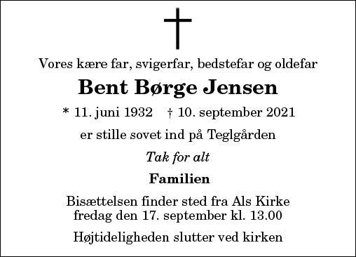 Bent Børge Jensen