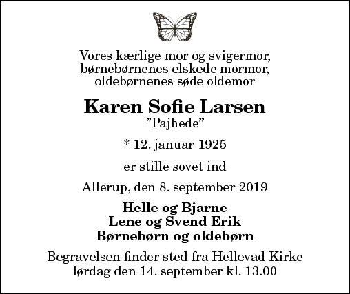 Karen Sofie Larsen