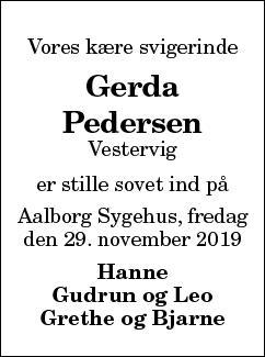 Gerda Pedersen