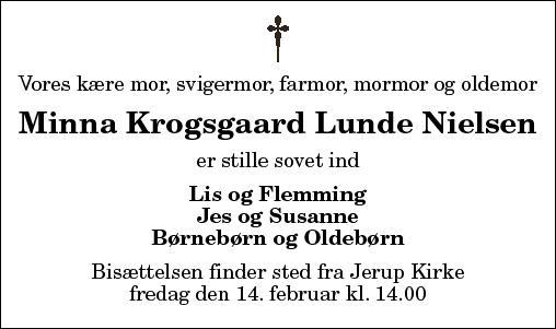 Minna Krogsgaard Lunde Nielsen
