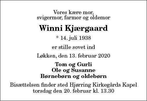 Winni Kjærgaard