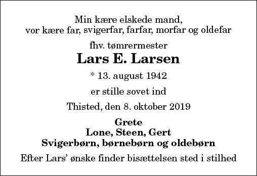 Lars E. Larsen