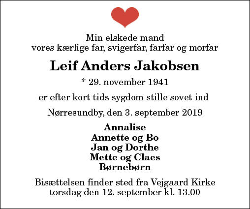 Leif Anders Jakobsen
