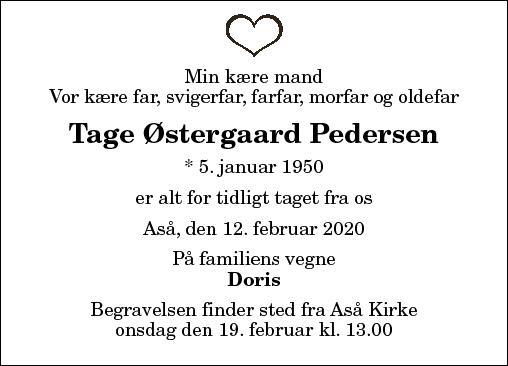 Tage Østergaard Pedersen