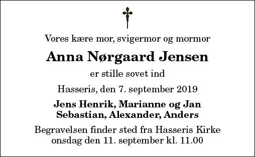 Anna N. Jensen