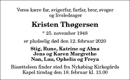 Kristen Thøgersen