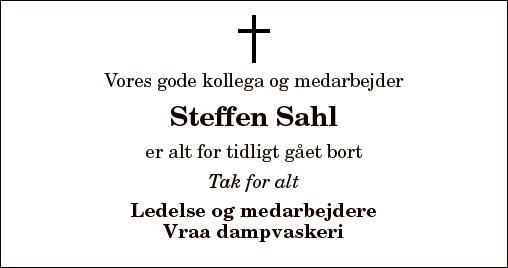 Steffen Sahl