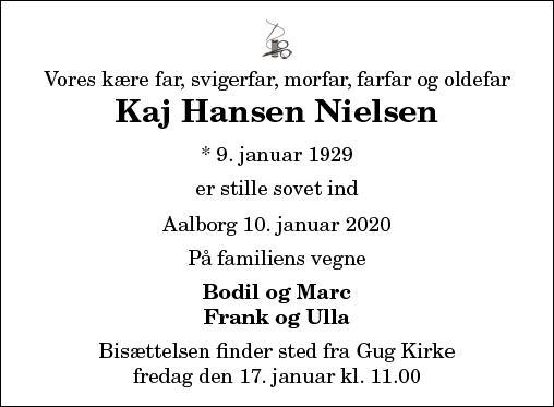 Kaj Hansen Nielsen