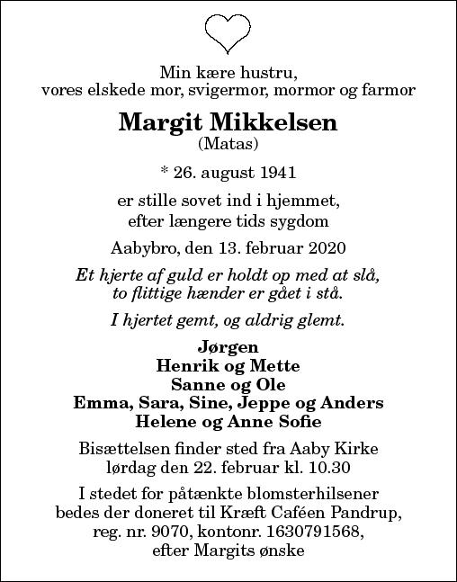 Margit Mikkelsen