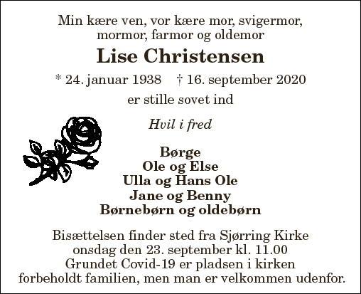 Lise Christensen