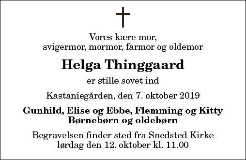 Helga Thinggaard