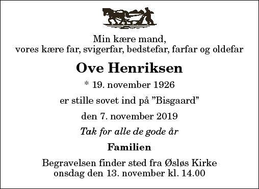 Ove Henriksen