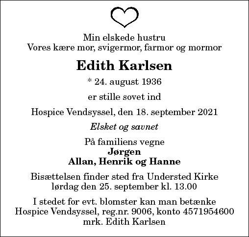 Edith Karlsen
