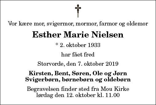 Esther Marie Nielsen