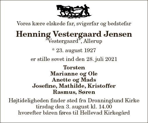 Henning Vestergaard Jensen