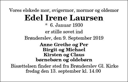 Edel Iren Laursen