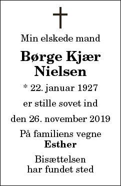 Børge Kjær Nielsen
