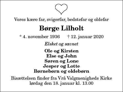 Børge Lilholt