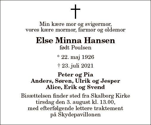 Else Minna Hansen
