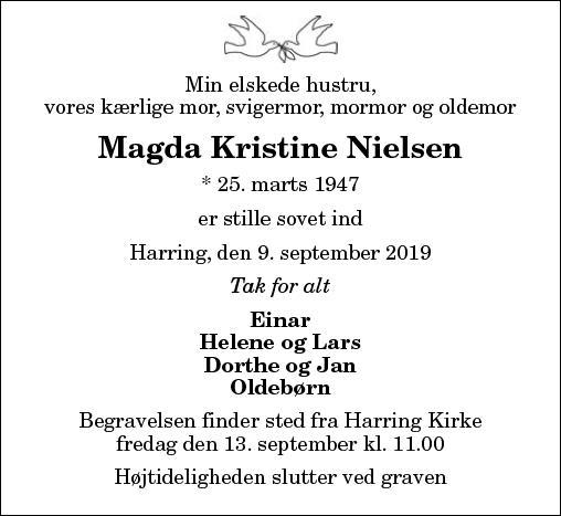 Magda Kristine Nielsen