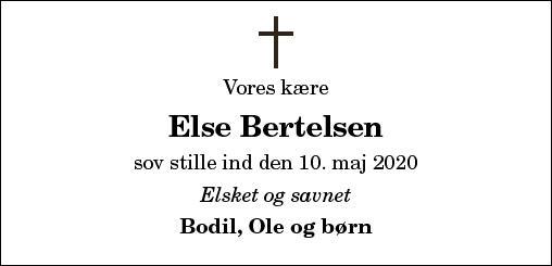 Else Bertelsen