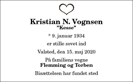 Kristian Nørregaard Vognsen