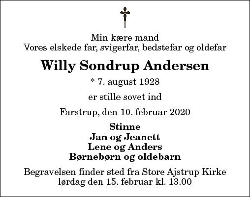 Willy Sondrup Andersen