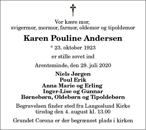 Karen Pouline Andersen