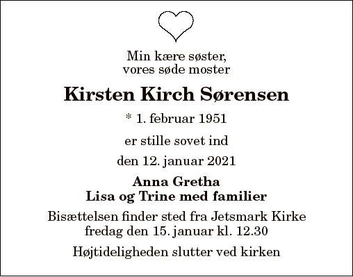 Kirsten Kirch Sørensen