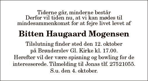 Bitten Haugaard Mogensen