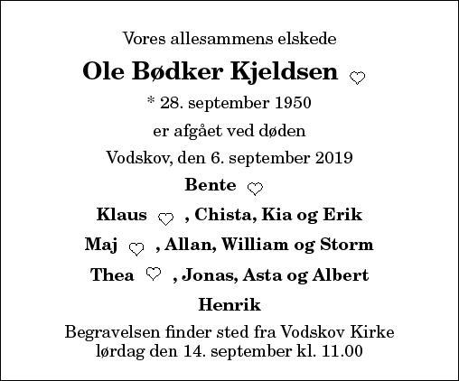 Ole Bødker Kjeldsen
