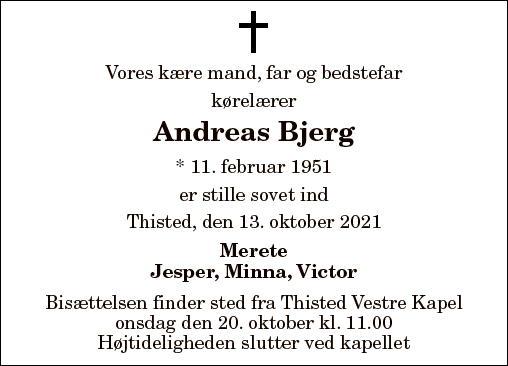 Andreas Bjerg