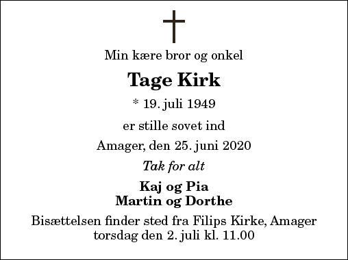 Tage Kirk