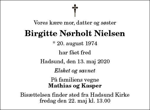 Birgitte N. Nielsen
