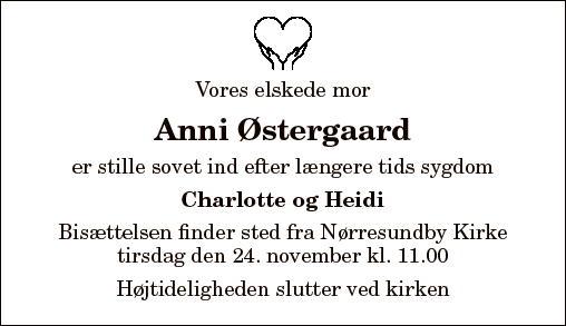 Anni Østergaard