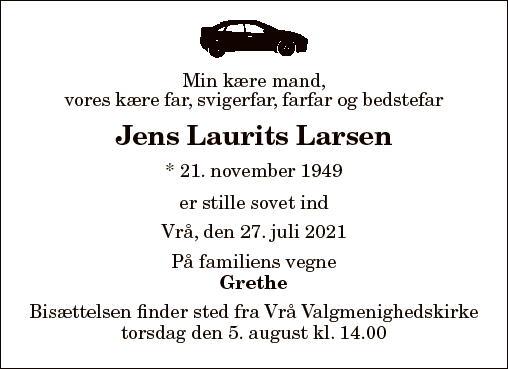 Jens Laurits Larsen