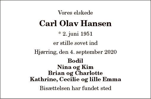 Carl Olav Hansen