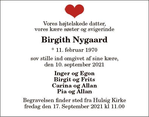 Birgith Nygaard