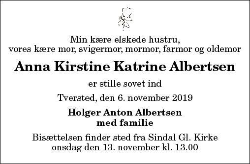 Anna Kirstine Katrine Albertsen