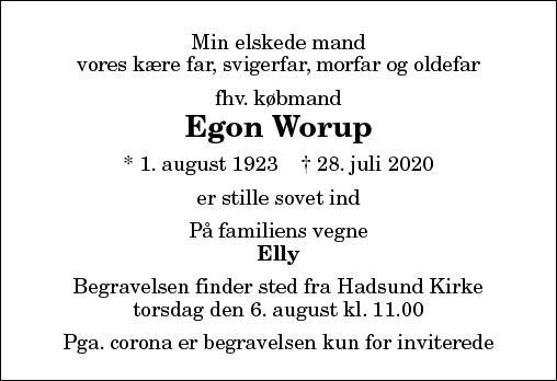 Egon Worup