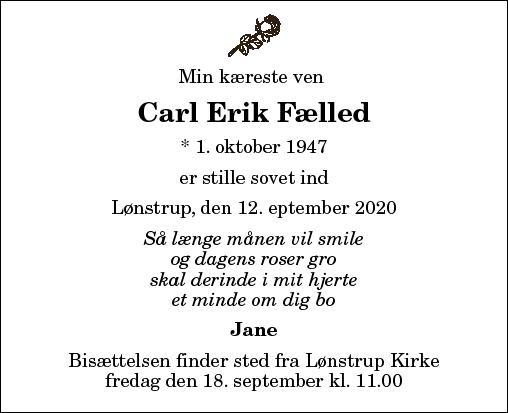 Carl Erik Fælled
